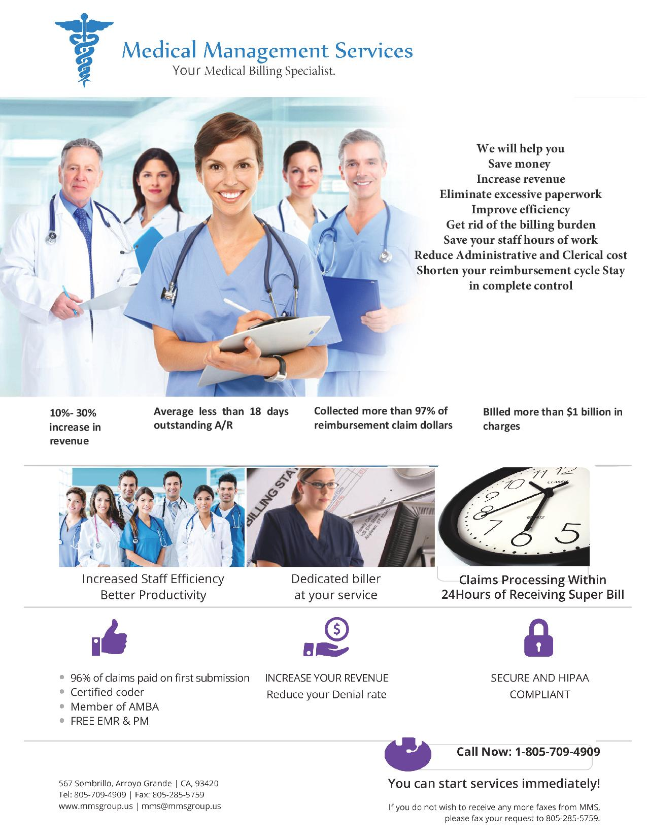 Your Medical Billing Specialist | MMS