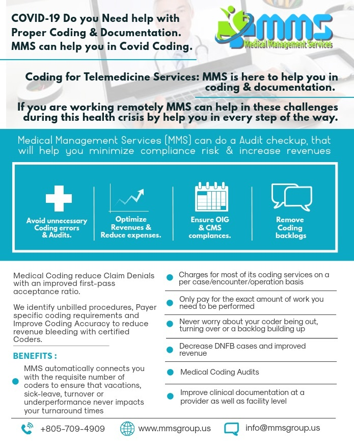 Medical Coding for Telemedicine Services